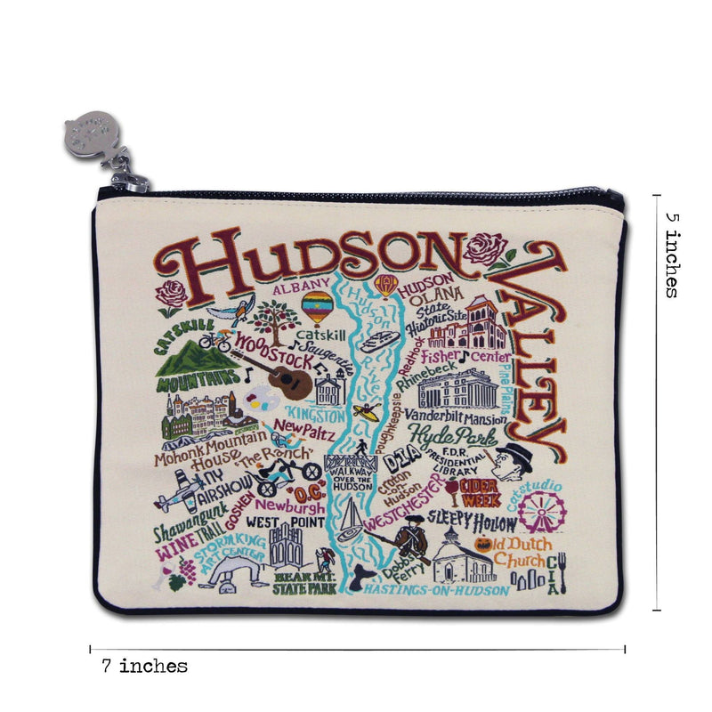 Catstudio Places Zip Pouch - Hudson Valley