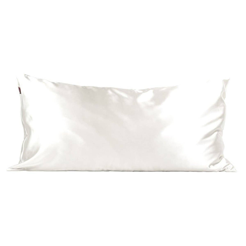 Satin Pillowcase King - Ivory