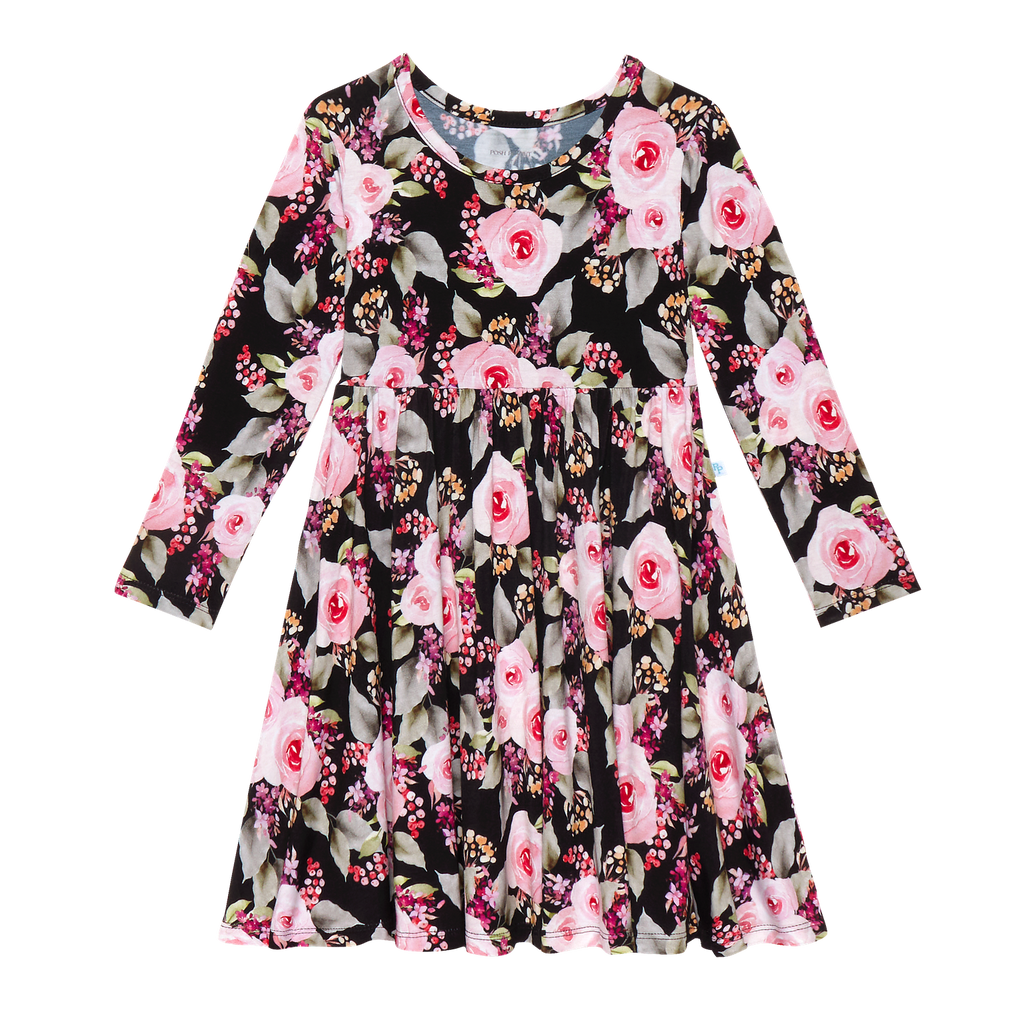 Peanut L/S Twirl Dress Milana