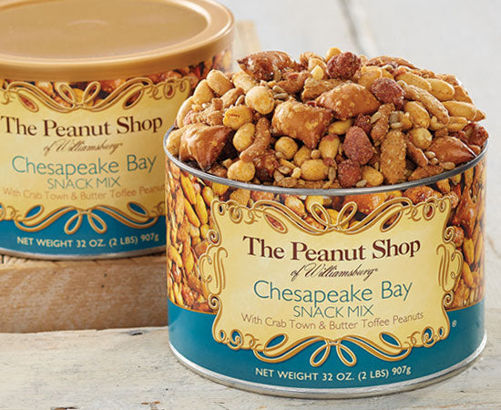 The Peanut Shop Chesapeake Bay Snack Mix