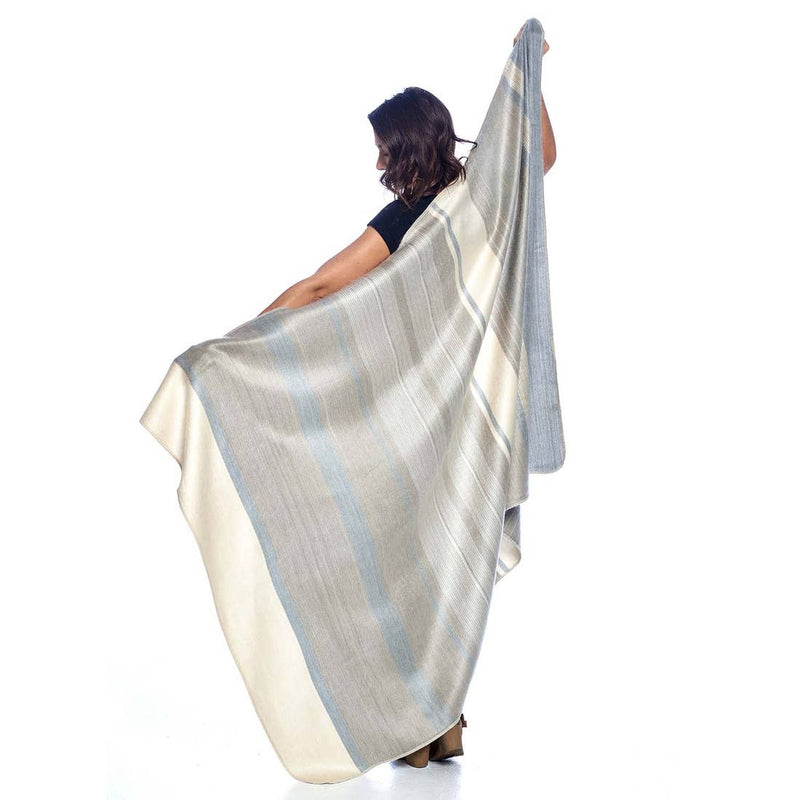 Shupaca - Alpaca Throw - Silver Birch