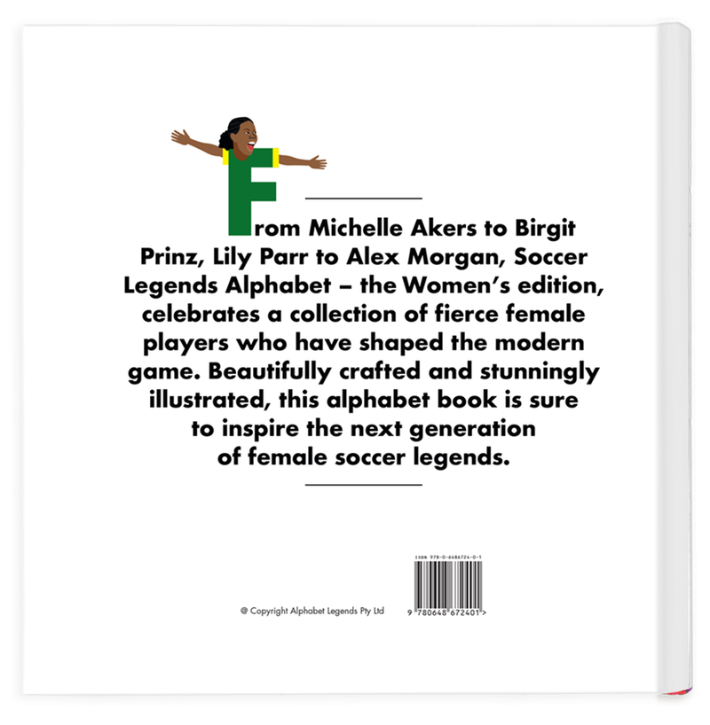 Alphabet Legends - Soccer Women