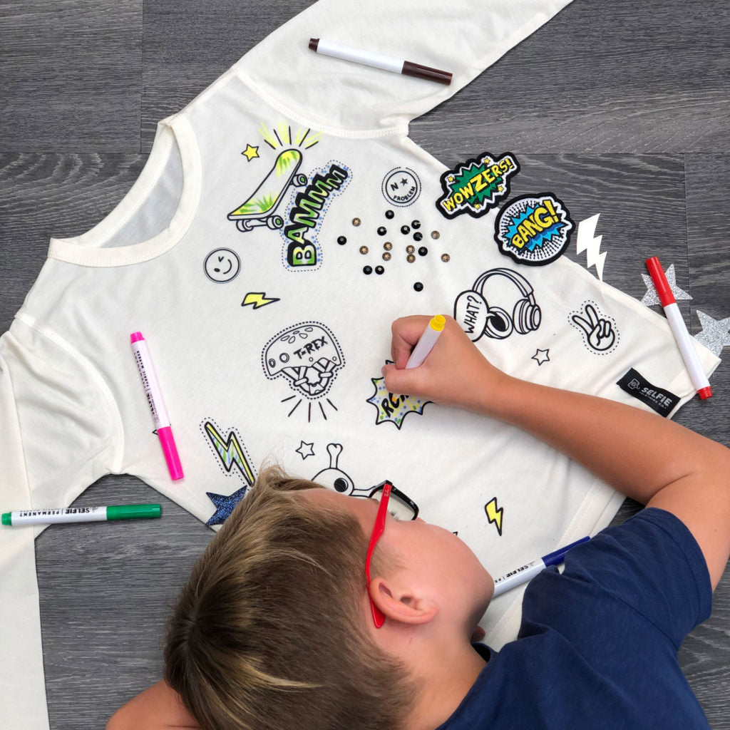 Color Your Own Dare To Street Embellishment Top Kit