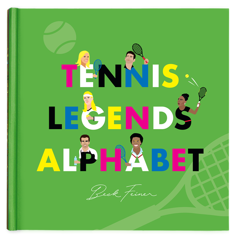 Alphabet Legends - Tennis