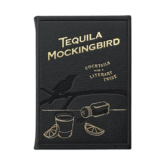 Tequila Mockingbird Full Grain Leather Book