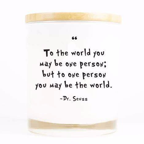 Soy Candle - Dr. Seuss