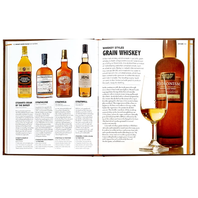 World Whiskey Genuine Leather Book