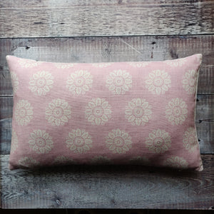 Linen Cushion / Ronda Blush