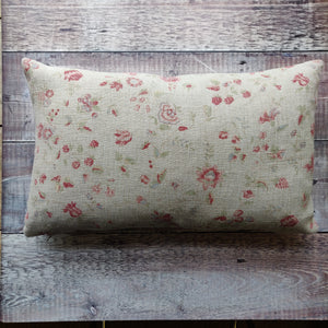Linen Cushion / Framboise Natural