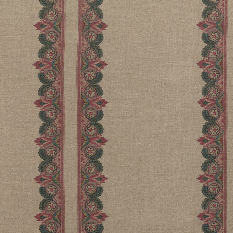 Balazuc Morocco Marchprint™ Aged Linen/Natural Samples