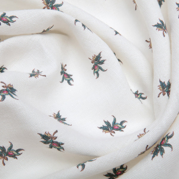 Balazuc Sprig Aged Linen/Ivory