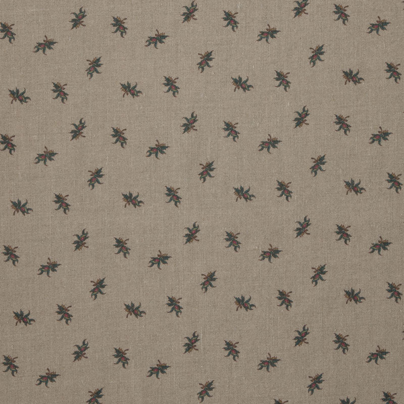 Balazuc Sprig Aged Linen/Natural Samples