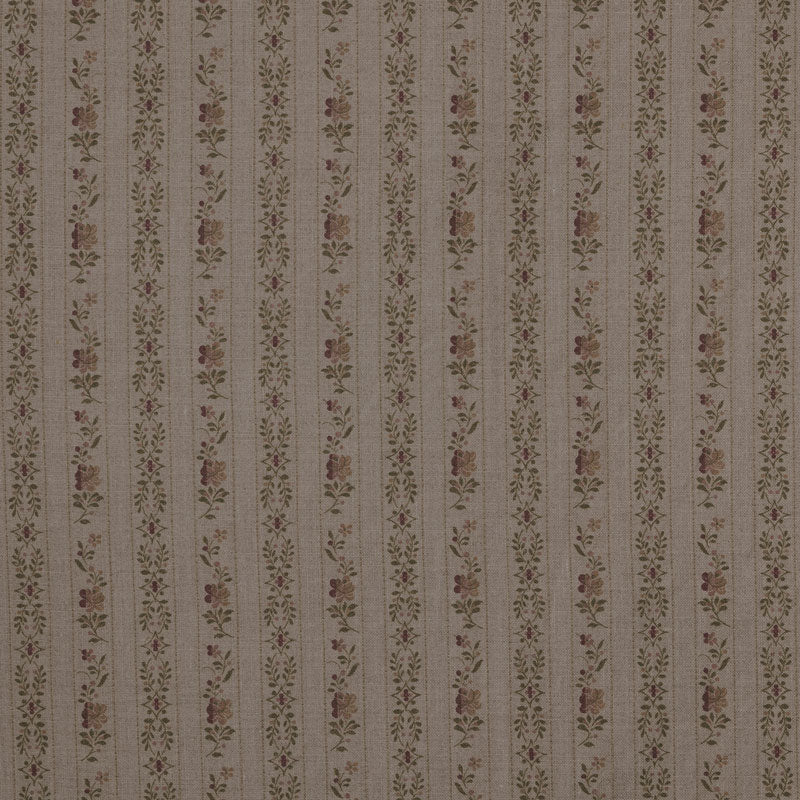 Beauclerc Stripe Wide Aged Linen / Natural Rose