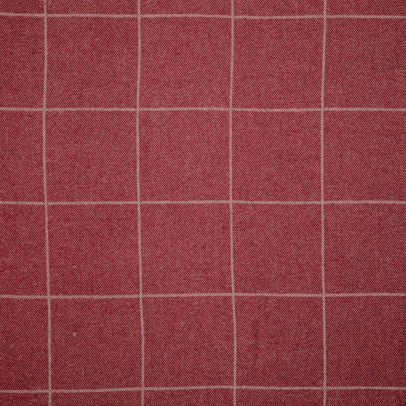 Beaumont Check Wool/Cranberry