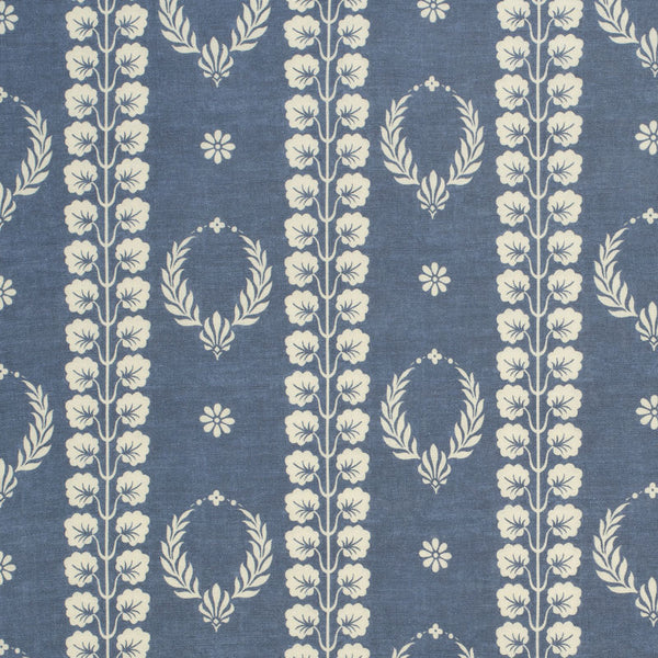 Couronne Aged Linen/Marine Blue Samples