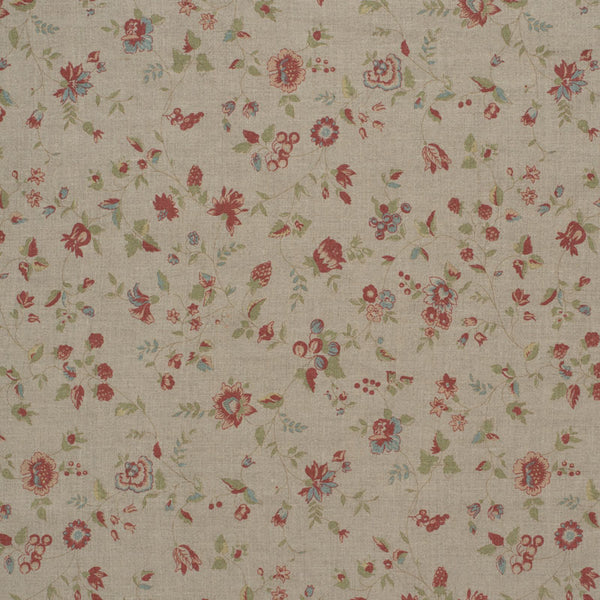 Framboise Double Aged Linen/Natural Samples