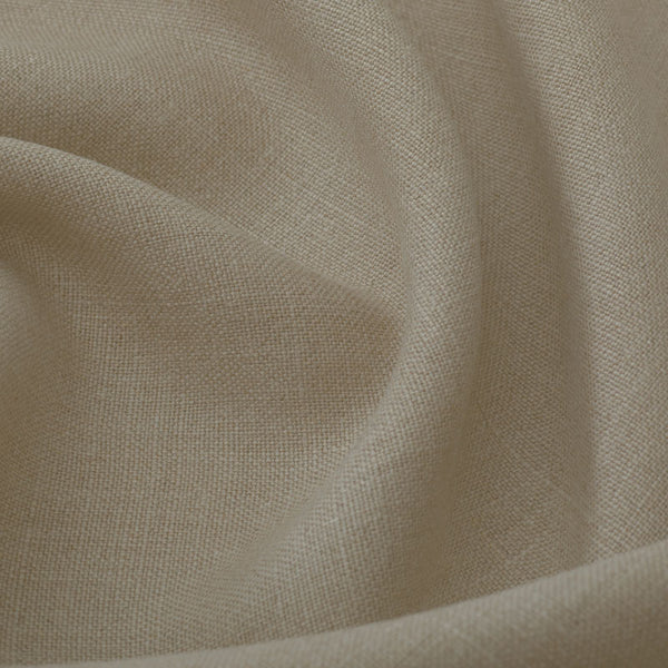 Plain Medium Weight Linen/Natural