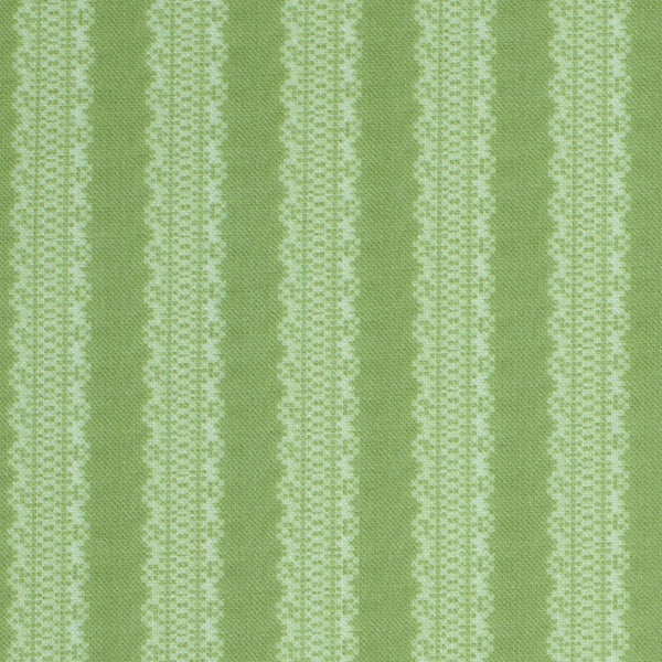 Torchon Stripe / Awe Green Samples
