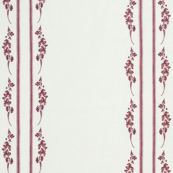 Trifolium Marchprint / Raspberry on Ivory Samples