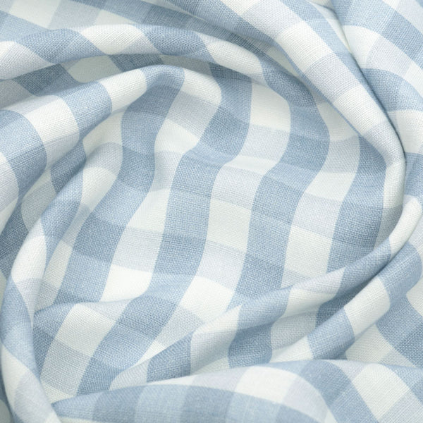 Vintage Check Linen/Old Blue