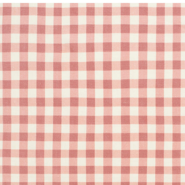 Vintage Check Linen/Raspberry Samples