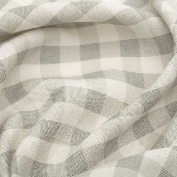 Vintage Check Linen/Smoke Grey