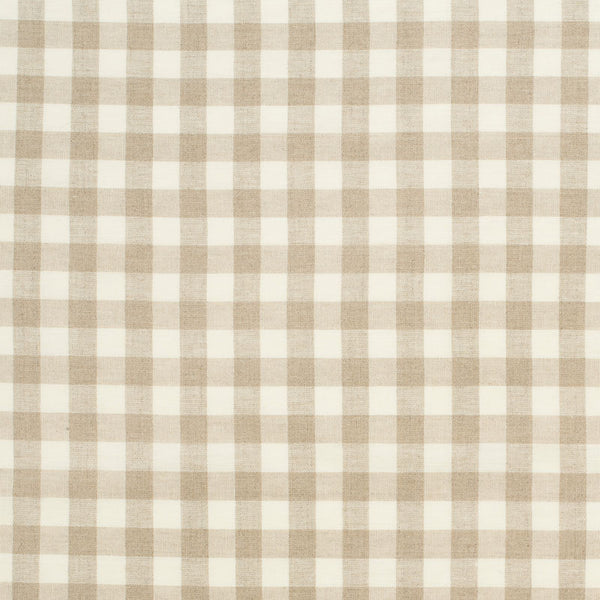 Woven Gingham Linen/Ecru Samples
