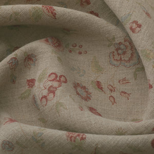 Framboise Double Aged Linen /Natural