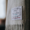 The Inchyra Scottish Wool Throw in Sky