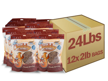 24lb Chubby Dried Mealworms  (2lb Case Deal) - Chubby Mealworms