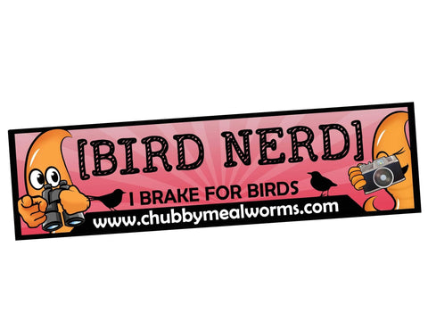 Bumper Sticker - Bird Nerd