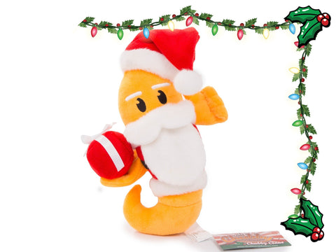 Soft Chubby Mealworms - Chubby Claus Plush - Chubby Mealworms