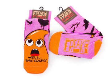 Chubby Freaker Socks - Pink - Chubby Mealworms