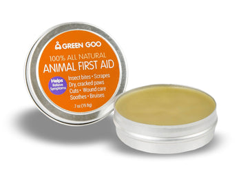 Green Goo Animal Aid - Travel Tin 7oz - Chubby Mealworms
