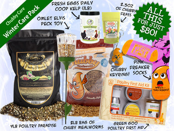 Chubby Winter Care Pack - Chubby Mealworms