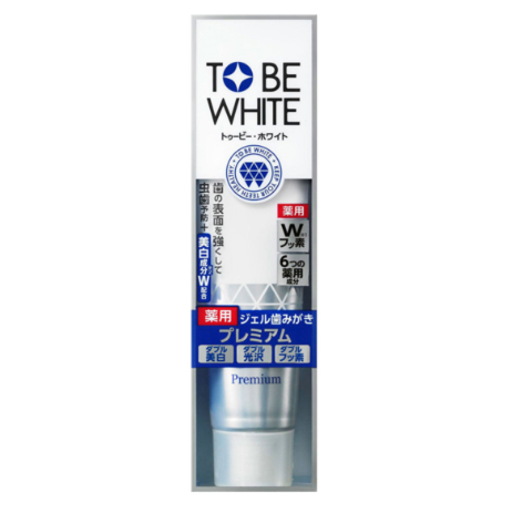 TO BE WHITE - Clean Stain Medical Dental Gel Premium 藥用美白謢牙凝露 60g