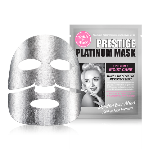 PRESTIGE PLATINUM MASK 10 PCS