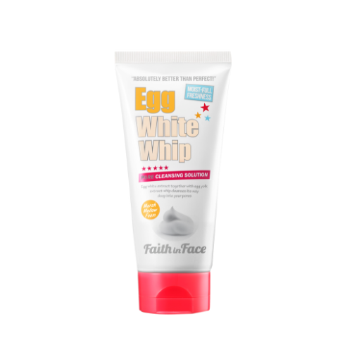 Faith in Face Egg White Whip Cleansing Foam 蛋白保濕潔面泡沫