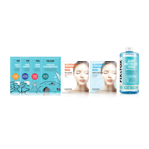 All-In-One Advanced Skincare Set 全效護理進階套裝