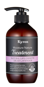 KYREN - Moisture Nature Dear Lavender Treatment 天然保濕修護潤髮乳-薄荷薰衣草 500ml