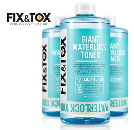 Giant Waterlock Toner 1000ml (with FREE mist bottle) 爽膚水一支裝 (1000ml)