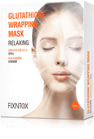 GLUTATHIONE WRAPPING MASK-RELAXING 5 PCS 特效水療面膜(舒緩鎮靜) 5片