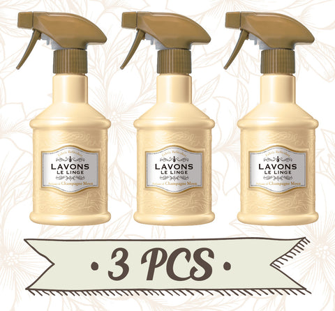 LAVONS Fabric Refresher Champagne Moon 3pcs