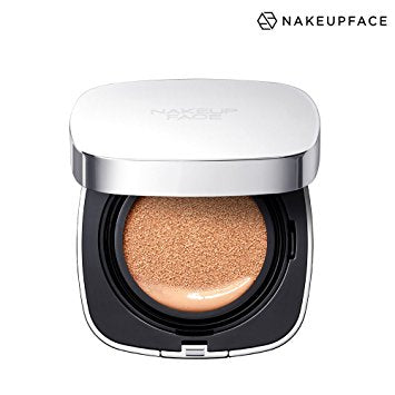 (SALE) Nakeup Face - Waterking Cover Cushion 時尚銀補水王遮瑕氣墊粉餅
