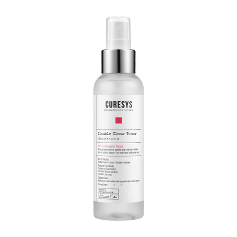 CURESYS Trouble Clear Toner 淨肌抗痘爽膚水  150ml