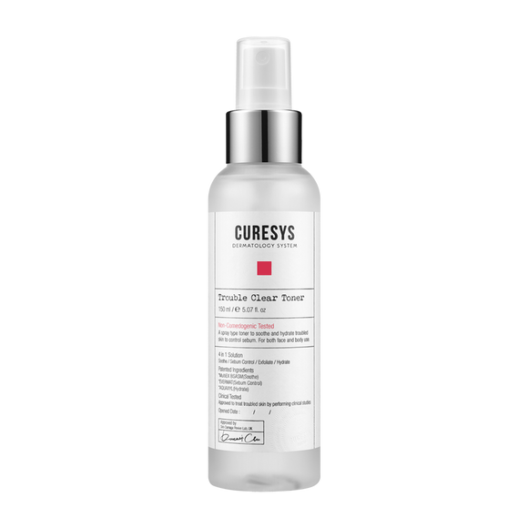 CURESYS - Trouble Clear Toner 淨肌抗痘爽膚水  150ml