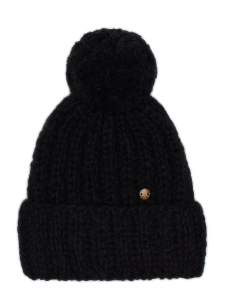 Hat Pom - Black - Casimier