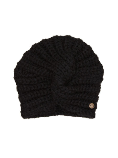 Mini Turban Batu - Black - Casimier