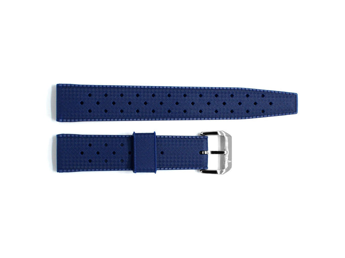 Blue Tropic Rubber Strap