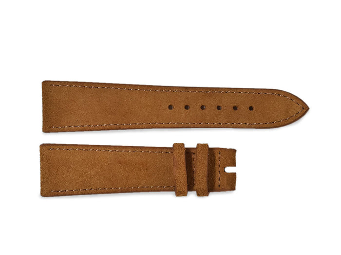 Tan Nubuck Leather Strap